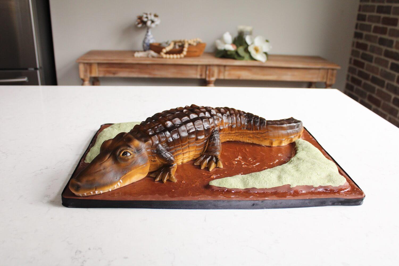 Gator Cake