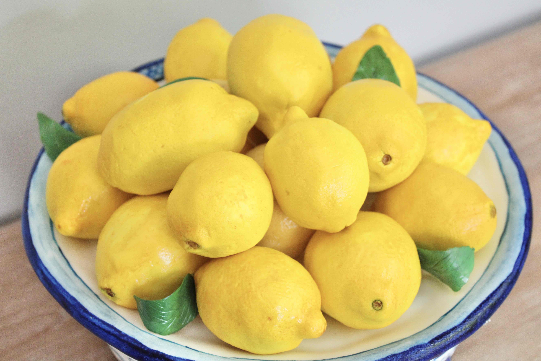 Lemon Bowl Ginger Jar Cake