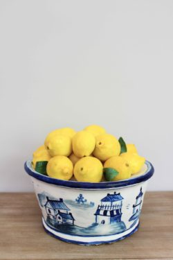Lemon Bowl Ginger Jar Cake