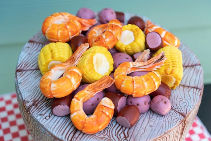3D Lowcountry Boil Cake