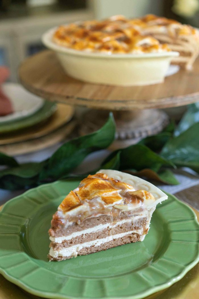 3D Apple Pie Cake