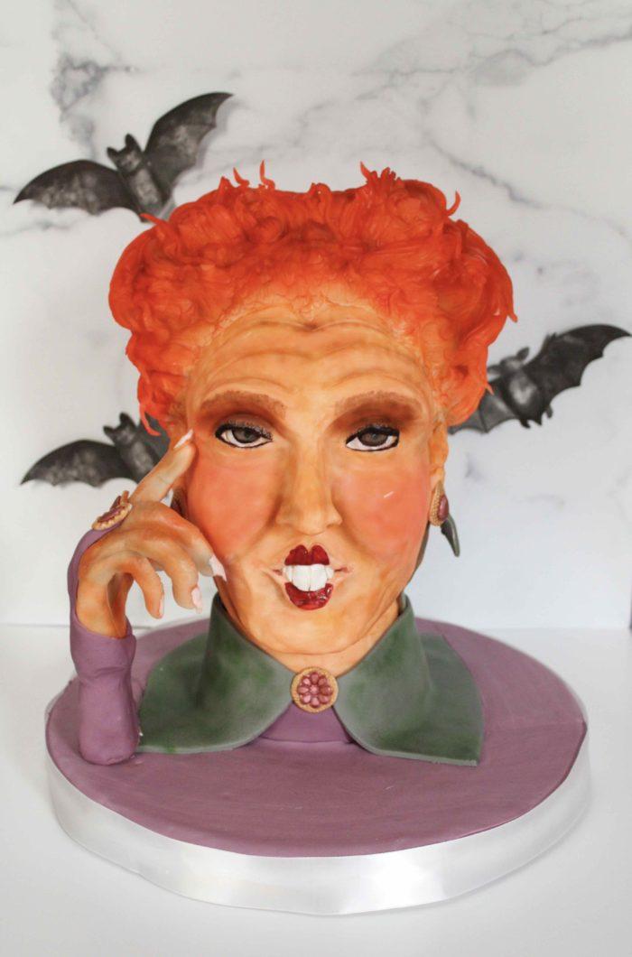 3D Sculpted Hocus Pocus Cake
