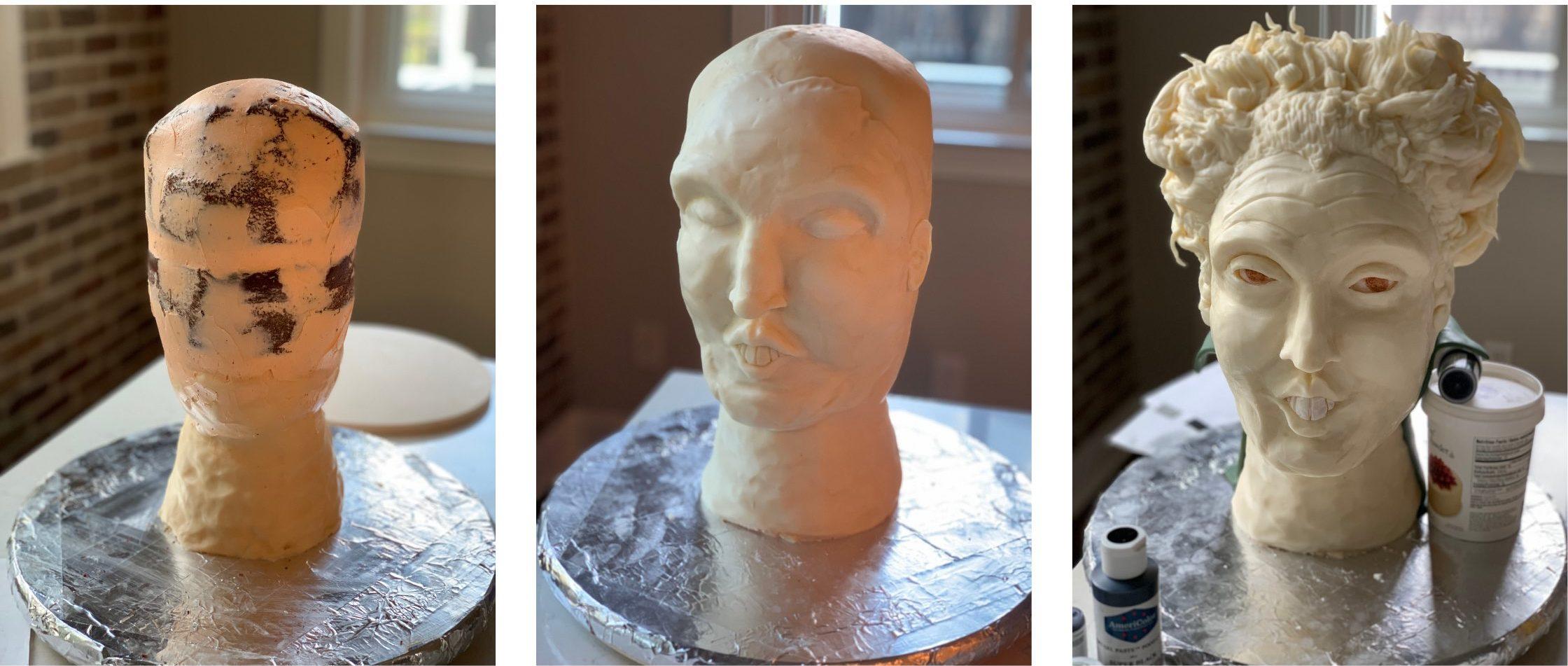 Hocus Pocus Cake Behind-The-Scenes