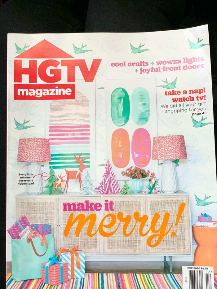 For Heaven Bakes in HGTV Magazine