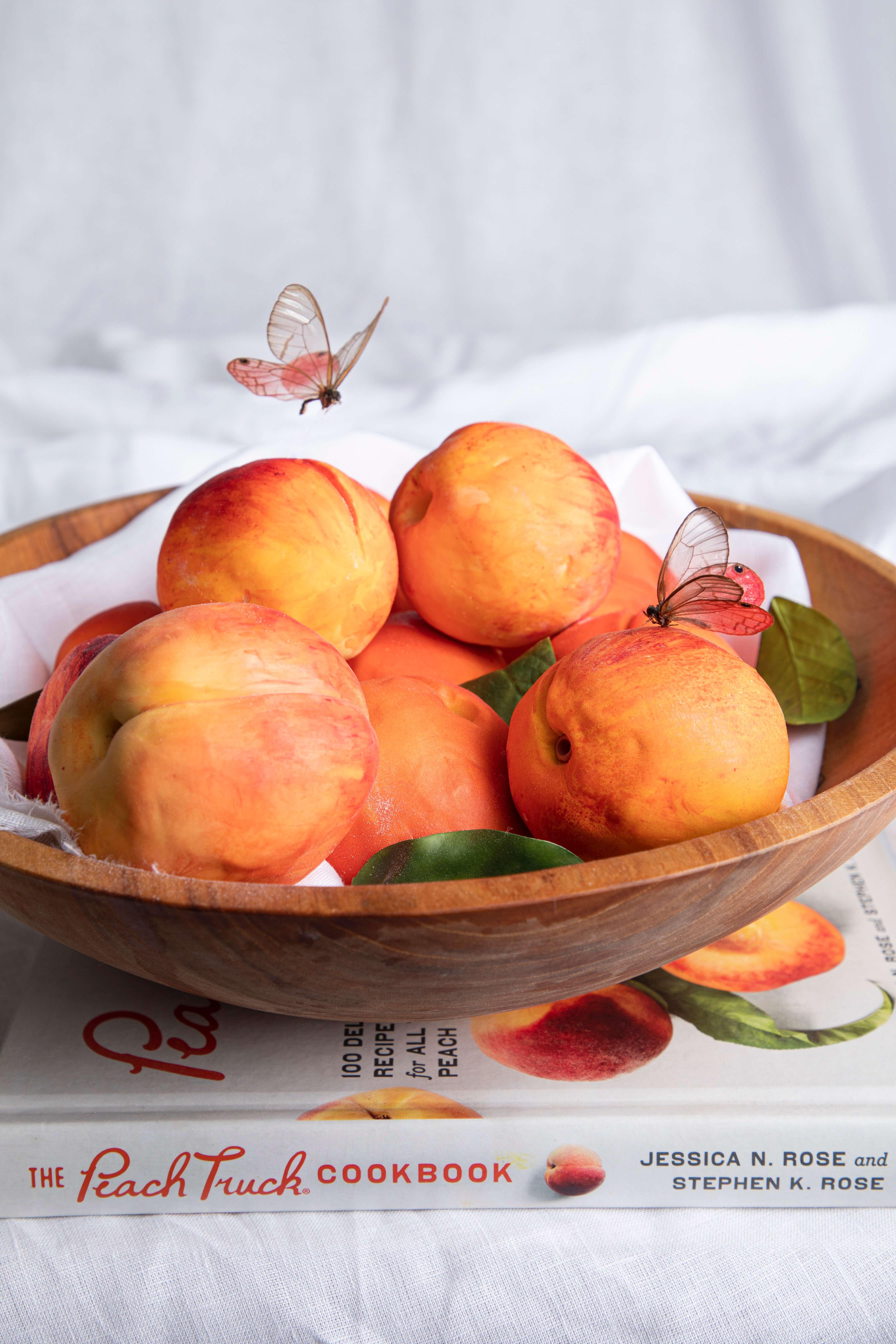 Peach Cakes and Peach Truck Cookbook Brand Cakes