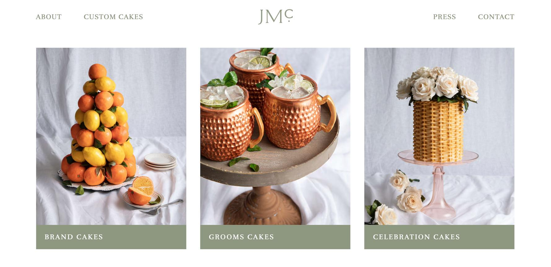 Julie McAllister Cakes Charleston Custom Cakes